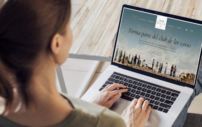 Descubre la tienda online del Club MIlla