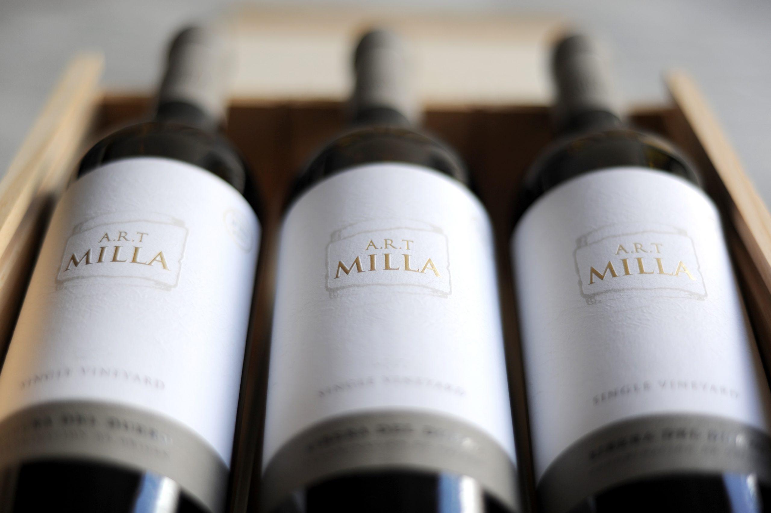 Botellas A.R.T Milla
