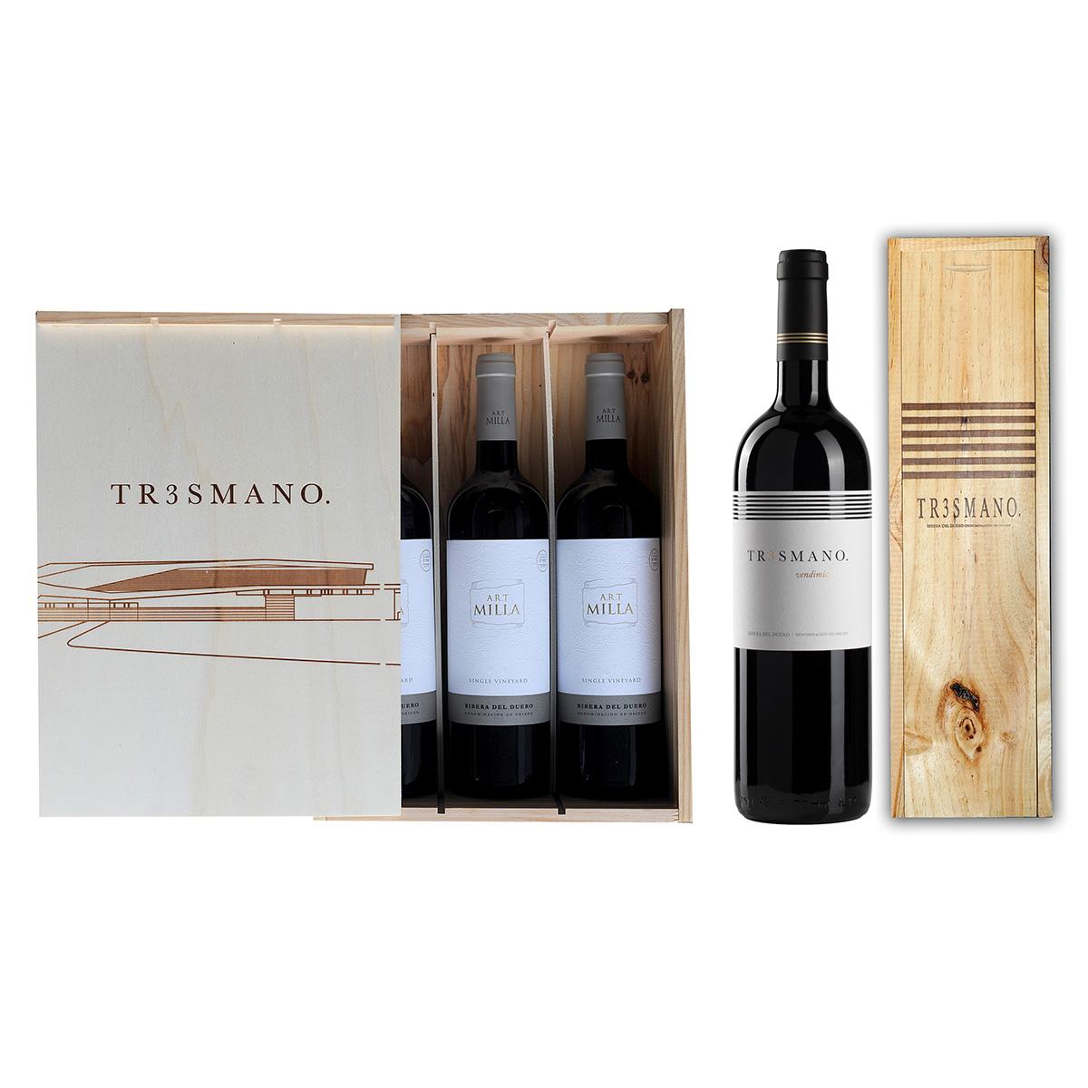 Colección Magnum + Tr3smano.